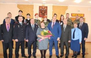 Кадеты – юнармейцы Златоуста встретились с Героем России и главой города.