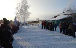 В селе Таянды прошли военно-патриотические соревнования