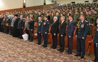 Поздравление орденоносных бригад