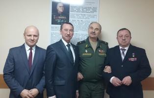Сотрудничество с кадетами и суворовцами развивается