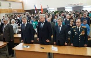 Представители Совета шефов и Фонда поздравили Героев