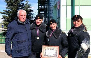 Совет шефов воинских частей поздравил участников окружного финала Танкового биатлона