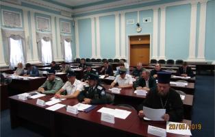 Рабочая группа при губернаторе региона оценила практику деятельности казачьих организаций