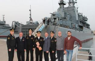 Челябинцы достойно служат на Черноморском флоте