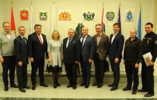 Заседание окружного Совета по вопросам совершенствования государственной политики в области патриотического воспитания