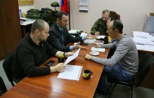 Сверили планы военно-шефского сотрудничества