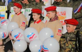 Совет шефов воинских частей традиционно принял участие в открытии окружного этапа армейских соревнований