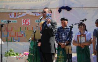 С 95-летием поздравили родную деревню полного кавалера ордена Славы