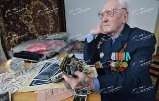 Ветеран Великой Отечественной войны Борис Никитич Бабкин