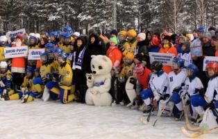 Первенство России по русскому хоккею среди юношей на Южном Урале