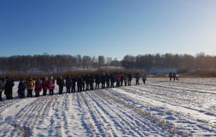 Тренировочный поход в зимний лес