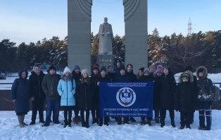 Активисты добровольчества изучают историю Отечества