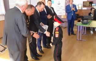 В центре кадетского образования Ялты челябинцы наградили лучших