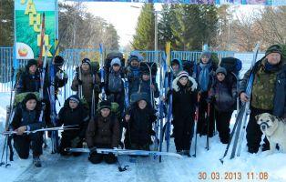 Летопись «Ростка»: лыжные прогулки и походы