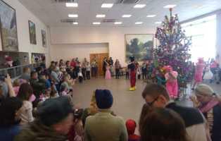 Новогодние праздники для детей военнослужащих