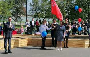 После реконструкции открыт сельский «Парк Победы»