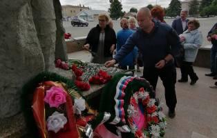Почтили память о жертвах Великой Отечественной войны