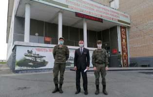 В День Российской гвардии поздравили земляков