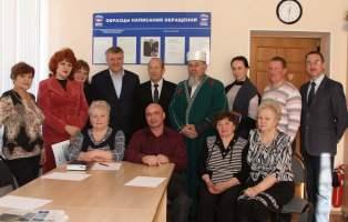 Прием граждан и встреча с представителями общественных объединений в Еткуле
