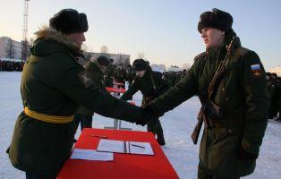 Молодые танкисты принесли Присягу