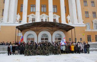 Гвардейцы дали старт мероприятиям юбилея Победы в Копейске