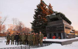 Лучшие разведчики гвардейского полка узнали историю Танкограда