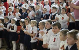 Армянск встретил с побратимами 75-ю годовщину освобождения от фашистских захватчиков