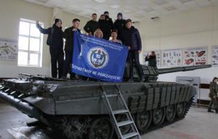 Земляки танкиста – Героя побывали в подшефной дивизии.